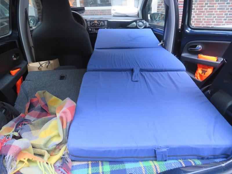 schlafen im VW UP