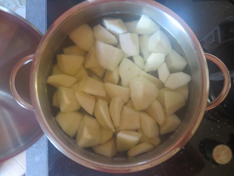 Birnen kurz kochen