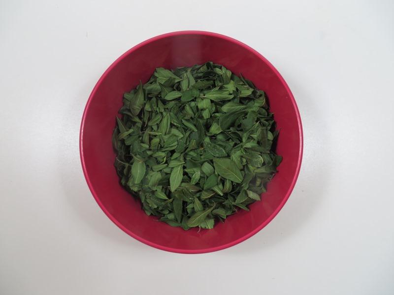 Schlehen Blätter Tee